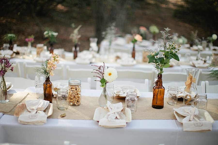 idee decoration table mariage champetre